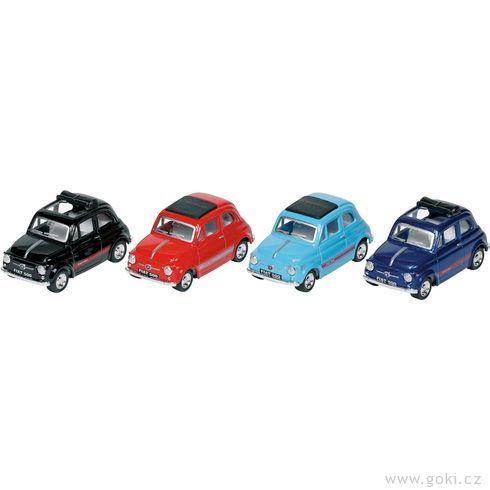 Fiat 500, setrvačník, měřítko 1:49 - Goki