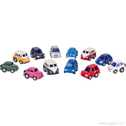 Mini závodničky II,setrvačník - Goki