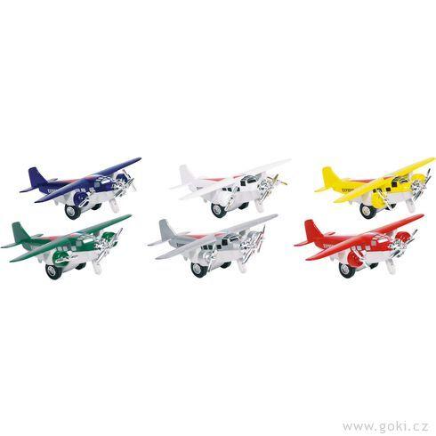 Letadla sezpětným natahováním III - Goki
