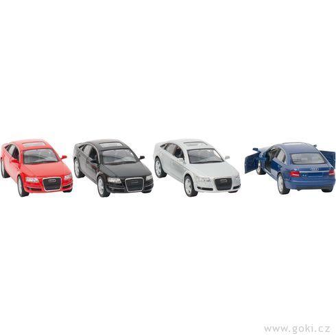 Audi A6sezpětným natahováním, měřítko 1:38 - Goki