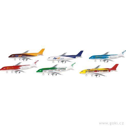 Letadla snápisem azpětným natahováním - Goki
