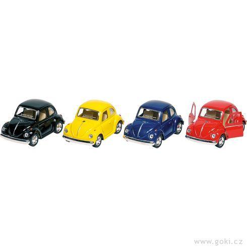 Volkswagen Brouk klasik (1967) sezpětným natahováním - Goki