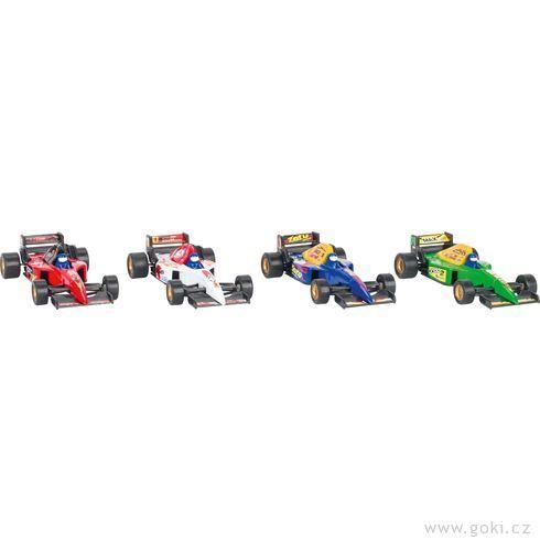 Formula Racer sezpětným natahováním - Goki