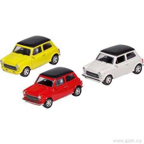 Mini Cooper 1300, setrvačník, měřítko 1:60 - Goki