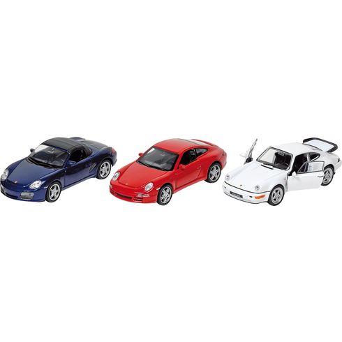 Porsche sezpětným natahováním, měřítko 1:34-39 - Goki