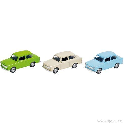 Trabant 601, zpětné natahování - Goki
