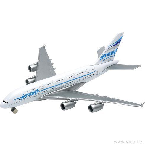 Letadlo Airbus A380, volnoběh - Goki