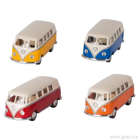 VWMicrobus (1962), zpětné natahování, měřítko 1:60 - Goki