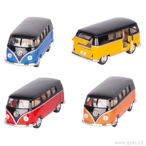 VWmicrobus (1962) sezpětným natahováním, měřítko 1:32 - Goki