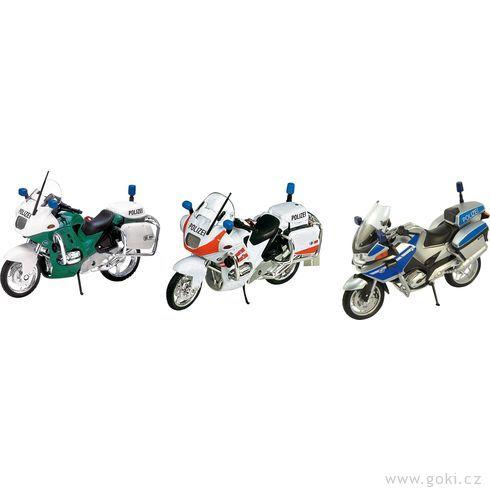 Policejní motorky navolnoběh - Goki