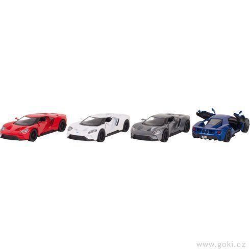 Ford GT(2017), 1:38, zpětné natahování - Goki