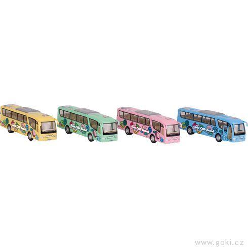 Cestovní autobus spotiskem nasetrvačník - Goki