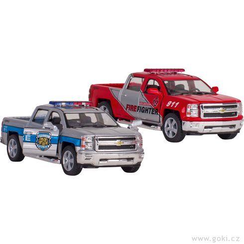 Chevrolet Silverado – policie ahasiči, zpětné natahování - Goki