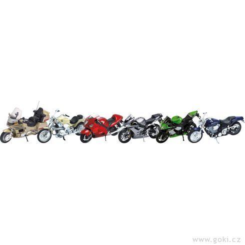 Motorky navolnoběh - Goki