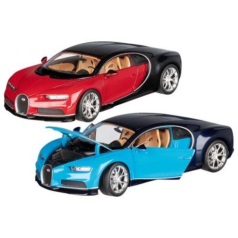 Bugatti Chiron, volnoběh, měřítko 1:24, volnoběh - Goki