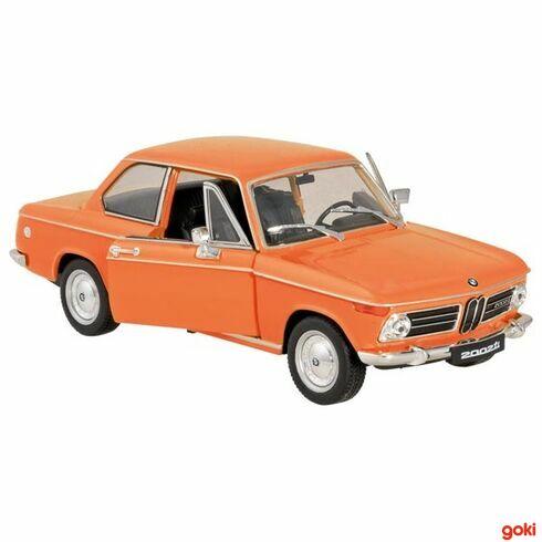 BMW2002ti, 1:24, volnoběh - Goki
