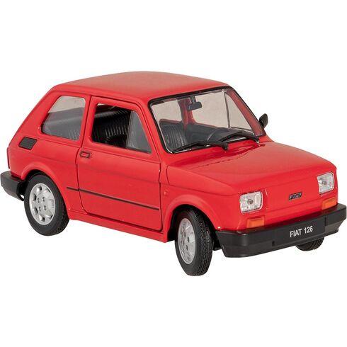 Fiat 126, 1:24, volnoběh - Goki
