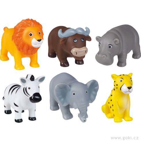 Stříkací hračka dovody – divoká zvířátka - Goki