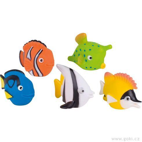 Stříkací hračka dovody – rybky - Goki
