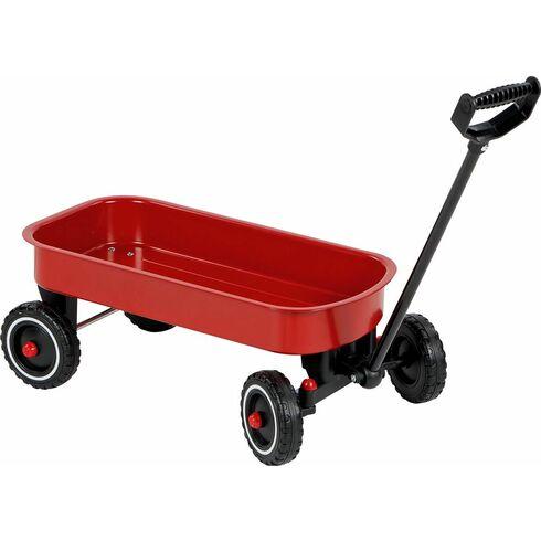 Plechový ruční vozík sřiditelnou ojí  - Goki