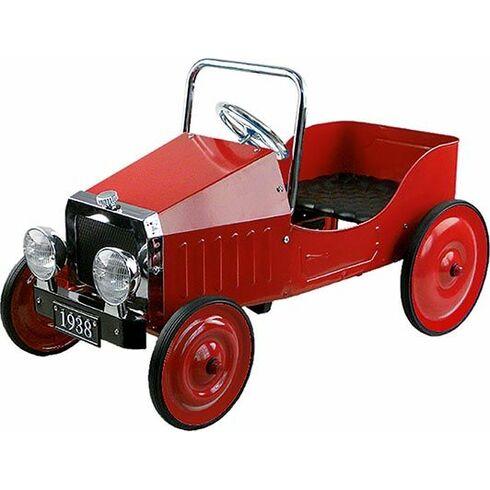 Kovové šlapací auto sgumovými koly, replika zroku 1938 - Goki