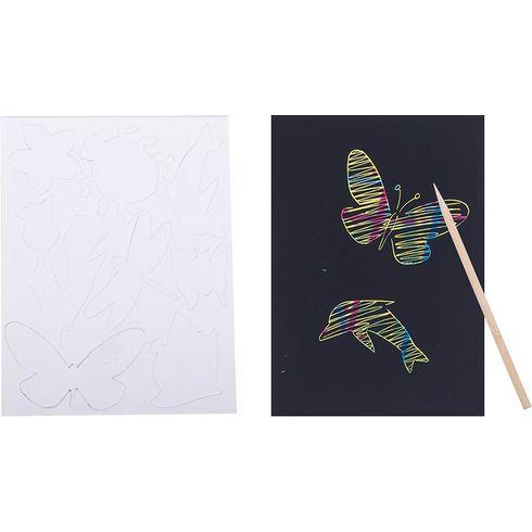Škrabací tabulka  - Goki
