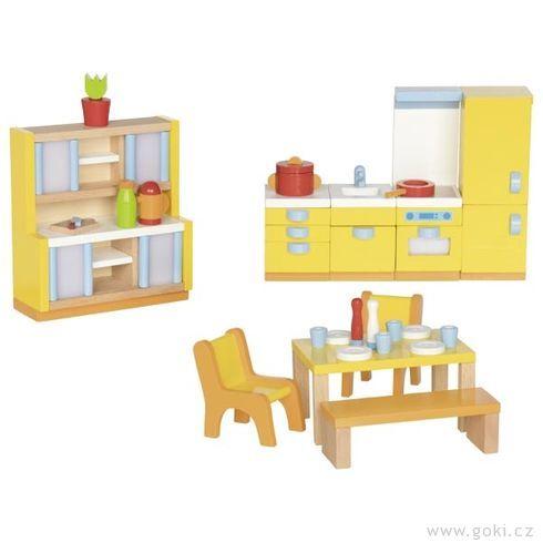 Kuchyňka – nábytek dodomečku propanenky, 27dílů - Goki