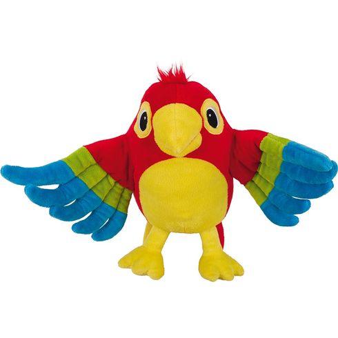 Maňásek naruku – papoušek Pelle - Goki