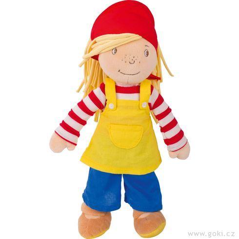 Malá Peggy 28cm,textilní panenka - Goki