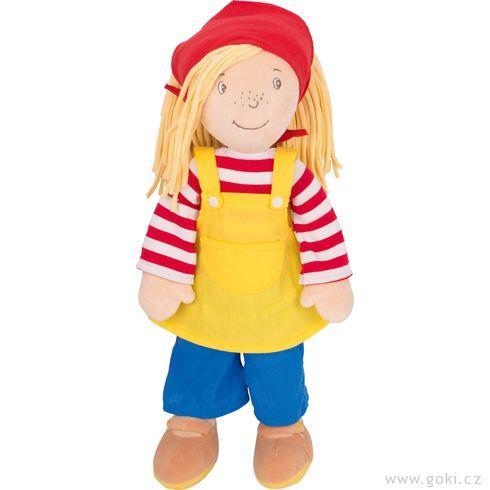 Velká Peggy 40cm,textilní panenka - Goki