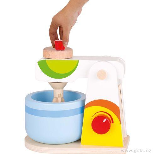 Mixér – dětské nádobí dokuchyňky - Goki