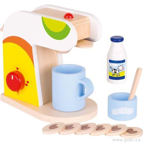 Kávovar – dětské nádobí dokuchyňky - Goki