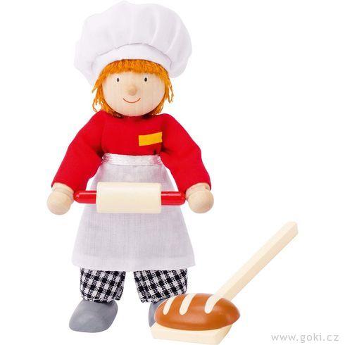 Panenka dodomečku – pekař - Goki