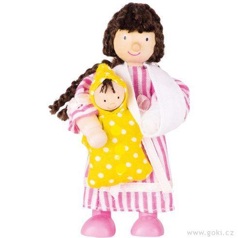 Panenka dodomečku nemocnice – pacientka holčička apanenka  - Goki