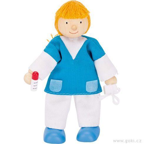 Panenka dodomečku nemocnice – zdravotní sestra - Goki