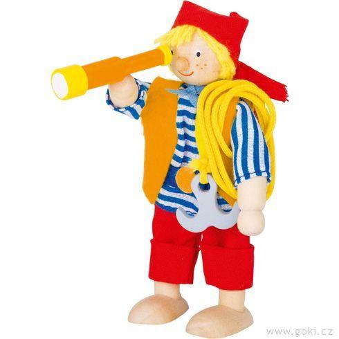 Panenka dodomečku – pirát - Goki