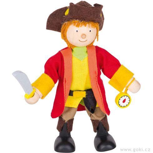 Panenka dodomečku – pirátský kapitán - Goki