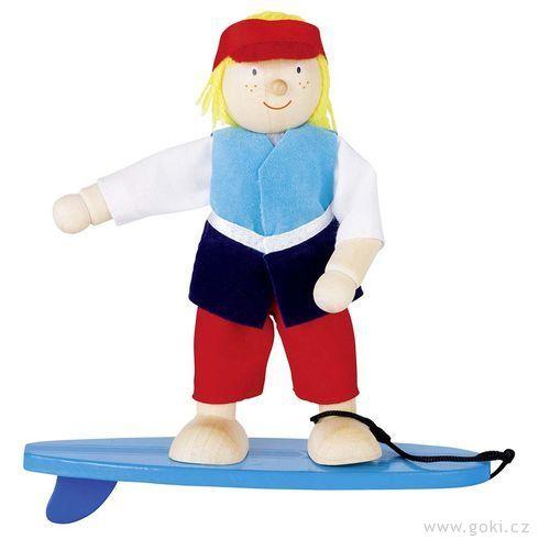 Panenka dodomečku – surfař - Goki