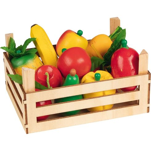 Směs ovoce azelenina vdřevěné přepravce, 10ks - Goki