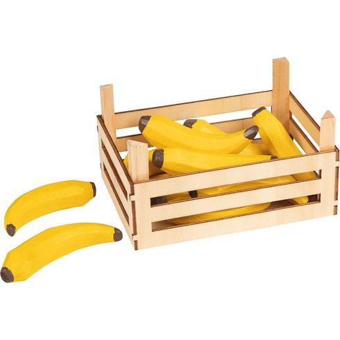 Banány vdřevěné přepravce, 10ks - Goki
