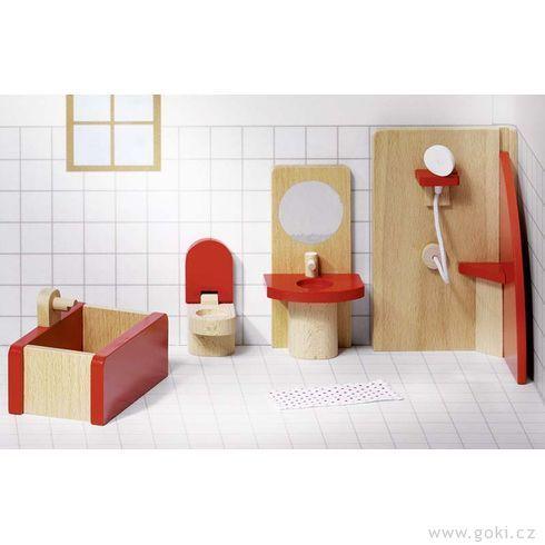 Domeček propanenky – koupelna BASIC, 5dílů - Goki