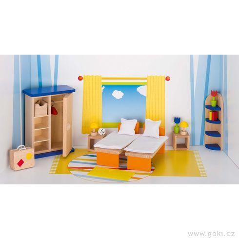 Nábytek propanenky – ložnice TREND, 21dílů - Goki
