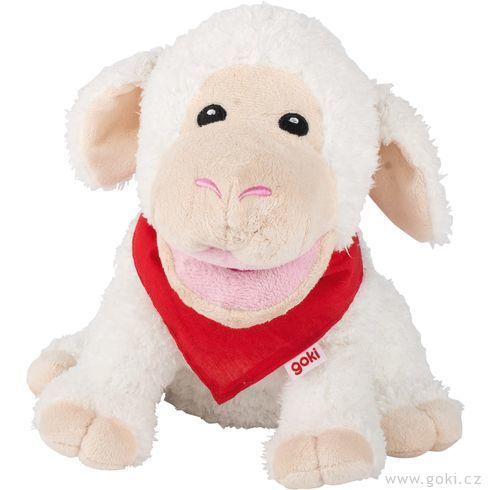 Maňásek naruku – bílá ovečka Zuzka - Goki
