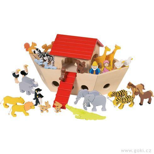 Noemova archa malá, kompletní set, 32dílů - Goki