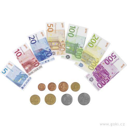 Dětské euro peníze, 116dílů - Goki