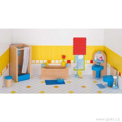 Nábytek propanenky – koupelna MODERNÍ, 17dílů - Goki