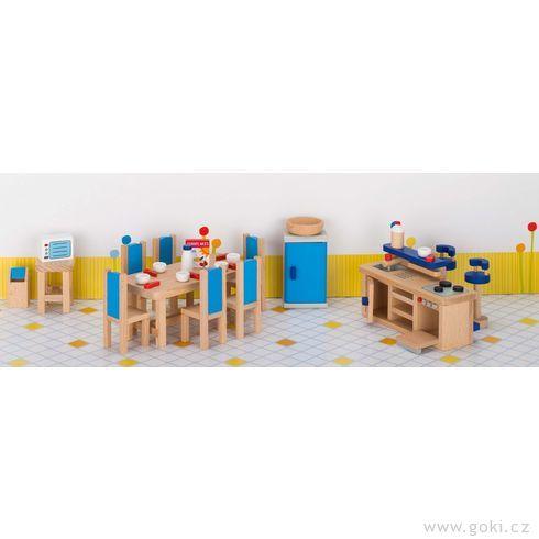 Nábytek propanenky – kuchyň MODERNÍ, 30dílů - Goki