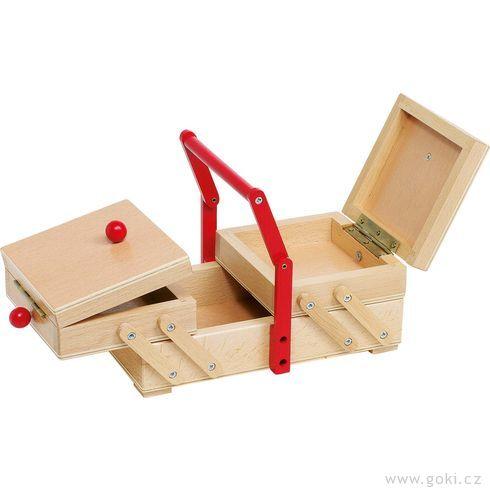 Skříňka našicí potřeby - Goki