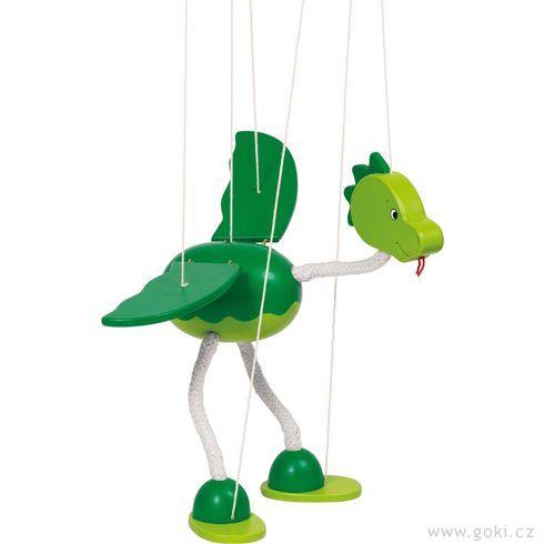Marioneta – dinosaurus Nepomuk - Goki