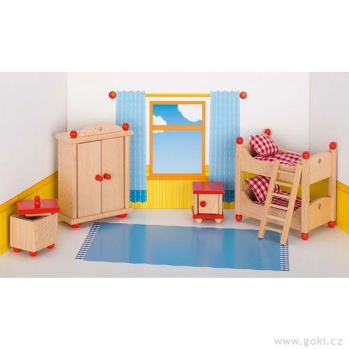 Nábytek propanenky – dětský pokoj STYLOVÝ, 5dílů - Goki